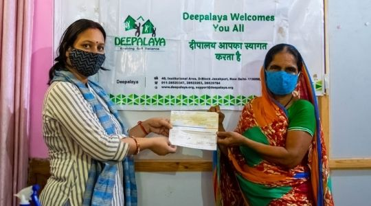 Financial support to COVID19 deceased family members by Deepalaya and Give India